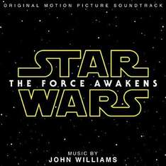 Star Wars: The Force Awakens Soundtrack CD £3.46  (Prime) / £5.45 (non Prime) Sold by MediaMerchants and Fulfilled by Amazon