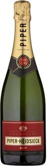 Piper Heidsieck Brut Non Vintage Champagne (75cl) was £30.00 now £20.00 @ Sainsbury's