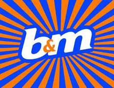 20% off Everything in B&M Wakefield for 2 weeks only