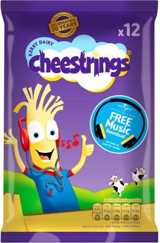 Cheestrings Original or Twisted (12 x 20g) was £3.50 now (BOGOF) @ Ocado