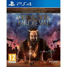 Grand Ages Medieval Limited Special Edition PS4 £16.99 @ 365 games