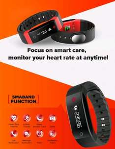 SMA - BAND Dynamic Heart Rate Monitoring Smart Wristband £15.98 @ Gearbest