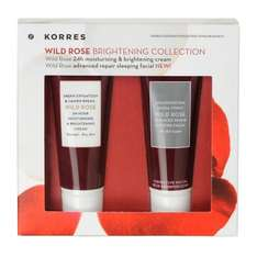 KORRES Wild Rose Brightening Skincare Collection Worth £18.40 now £5 @ m&s