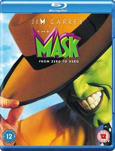 The Mask Blu Ray @ HMV - £5.99 (Click and Collect) / £7.99 (Delivery) / £5.99 (Free UK delivery on orders over £10) + Topcashback/Quidco