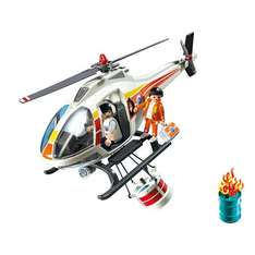 argos - Playmobil Fire Fighting Helicopter £10.99 was £24.99  [Home delivery only item]