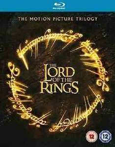 The Lord Of The Rings Trilogy (Blu Ray) @ theentertainmentstore/eBay for £6.99