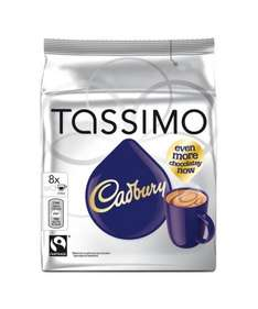 Tassimo Cadbury hot chocolate pods £1 tesco instore