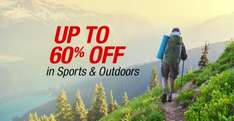 60% off in Amazon outdoor and sports department.