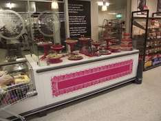 Sainsburys Bakery Counter Reduced to Clear Products from 37p