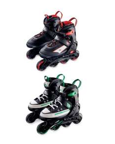 In Line Skates for Kids £11.99 Sizes 11up to 6.5 at Aldi in Store