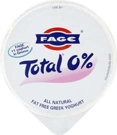 Fage Total 0% Fat Greek Natural Yogurt (170g) was £1.00 now 75p @ Sainsbury's