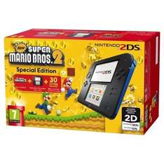 Black & Blue 2DS Console + Mario Kart 7 or New Super Mario Bros 2 or Tomodachi Life [White & Red Console] + Pokémon Alpha Sapphire or Omega Ruby + Free Case £82 [Using Code] @ Tesco