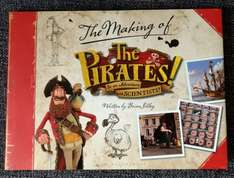 """""""The Making of The Pirates in An Adventure with Scientists"""" book - £25 down to £1 @ Poundland"""