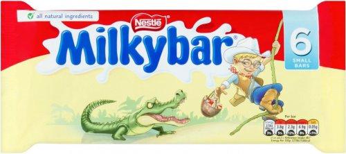Milkybar White Chocolate Bar (6 x 12g) was £1.20 now 75p (Rollback Deal) @ Asda