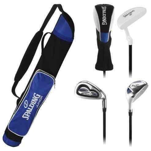 Spalding Junior Blue/Black Golf Set, 11-14 Years TESCO INSTORE SHEFFIELD - £3.75