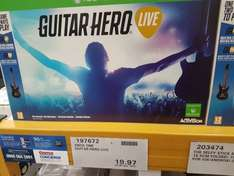 Guitar Hero live on xbox one or ps4 £23.96 at Costco leeds