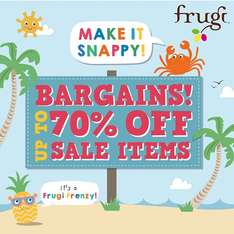 Frugi Summer Sale - up to 70% off gorgeous kids clothes @ Frugi