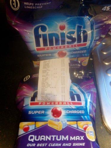 Finish Dishwasher Tabs - Powerball Quantium Max 45 - 4.00 @ Tesco instore