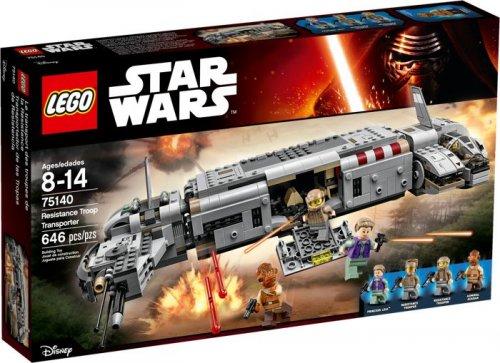 Lego Star Wars Resistance Troop Transporter [75140] £35.49 Delivered @ Forbidden Planet