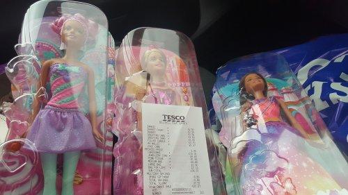 Barbies in Tesco £2.50