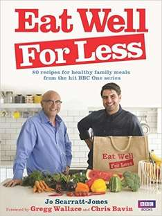 EAT WELL FOR LESS BOOK Via amazon direct CHEAPEST EVER!! £5.99 (Prime) @ Amazon