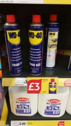 WD40 600ml for £3 @ Tesco Instore
