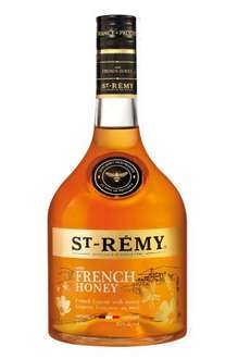 St Remy with French Honey Liqueur 70cl. £16.99 Amazon Prime.