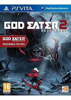 God Eater 2: Rage Burst (Includes God Eater Resurrection) (PS vita) £22.45 @ base