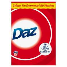 Daz Washing Powder 80 wash at ASDA - £8
