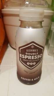 Ueshima's Double Espresso Smooth Chilled Coffee 39p @ Heron