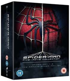 The Spider-Man Complete Five Film Collection [Blu-ray] pre-order £12.75 @ Zoom using code / DVD edition £10.20