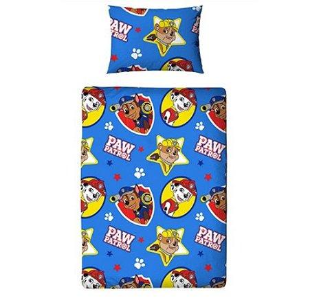 Paw Patrol Junior Bedding Bundle -  Includes duvet, pillow, duvet cover & pillowcase  now £15.40 (+£2 C&C) @ Tesco Direct
