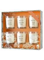 Sanctuary Spa Home Fragrance Autumn Winter Candle Collection Half Price now £5 C+C @ Boots