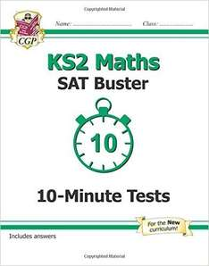 KS2 Maths SAT Buster: 10-Minute Tests (for the New Curriculum) @ Amazon - £1.49 (Prime) £4.48 (Non Prime)