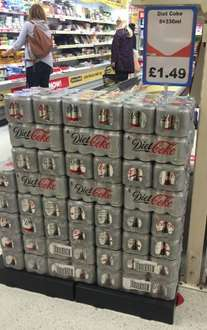 8 X Diet Coke cans £1.49 @ Heron Foods (18.6p a can)