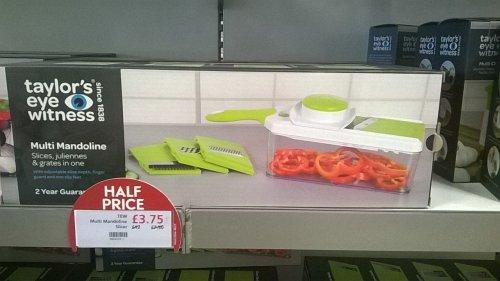 TAYLORS EYE WITNESS Multi - Mandoline Slicer £3.75 @ Waitrose