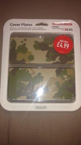 New Nintendo 3DS Camo Cover Plate £4.99 @ GAME