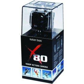 Kaiser Baas X80 1080p Action Camera £49.99 @ Maplin