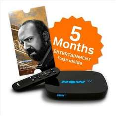 NOW TV Smart Box with 5 Months Sky Entertainment Pass £34.99 @ Argos