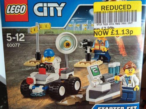 Lego 60077 City Space Starter Set £1.13 @ tesco Irvine