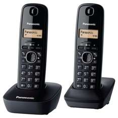 Panasonic KX-TG1612EH Twin Cordless Phone - Black  £25 in-store or £27 with c&c Tesco