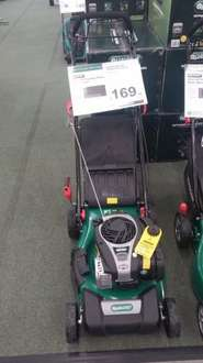 Qualcast 125cc self propelled petrol rotary lawnmower £169.99 @ Homebase