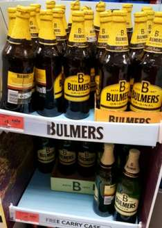 Bulmers  (original and pear) Instore £1 @ Sainsbury's