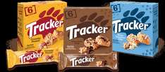 Tracker Crunchy Peanut / Chocolate Chip or White Chocolate Chip (6 Pack = 156g) ONLY £1.00 @ Asda