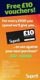 Free £20 voucher for every £100 spent (finishes close of play Monday 19 September) at Superfi (TV, Audio, Home Cinema, HiFi, Speakers, Headphones etc)