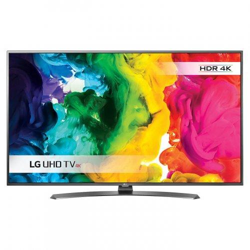 "(Price Drop) LG 43UH661V LED HDR 4K Ultra HD Smart TV, 43"" With Freeview HD/freesat HD & Metallic Design LG £429.00 @ John Lewis"