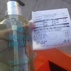 Molton Brown 'Mulberry & Thyme hand wash £6.00 Boots - Preston