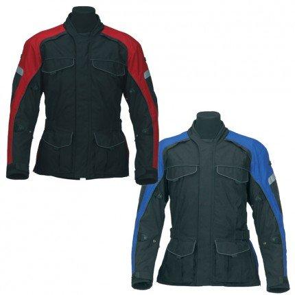 Spada Dyno Motorcycle Jacket Red/Black M - XXL  £55 (RRP £129.99)  @ bargainbikerbrands INSTORE Chesterton
