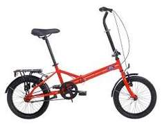 FORD B-MAX FOLDING BIKE, SINGLE SPEED LOW MAINTANENCE £169.97 halfords
