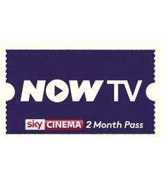 2 MONTHS SKY CINEMA PASS FOR NOW TV £8.95 @ THE GAME COLLECTION